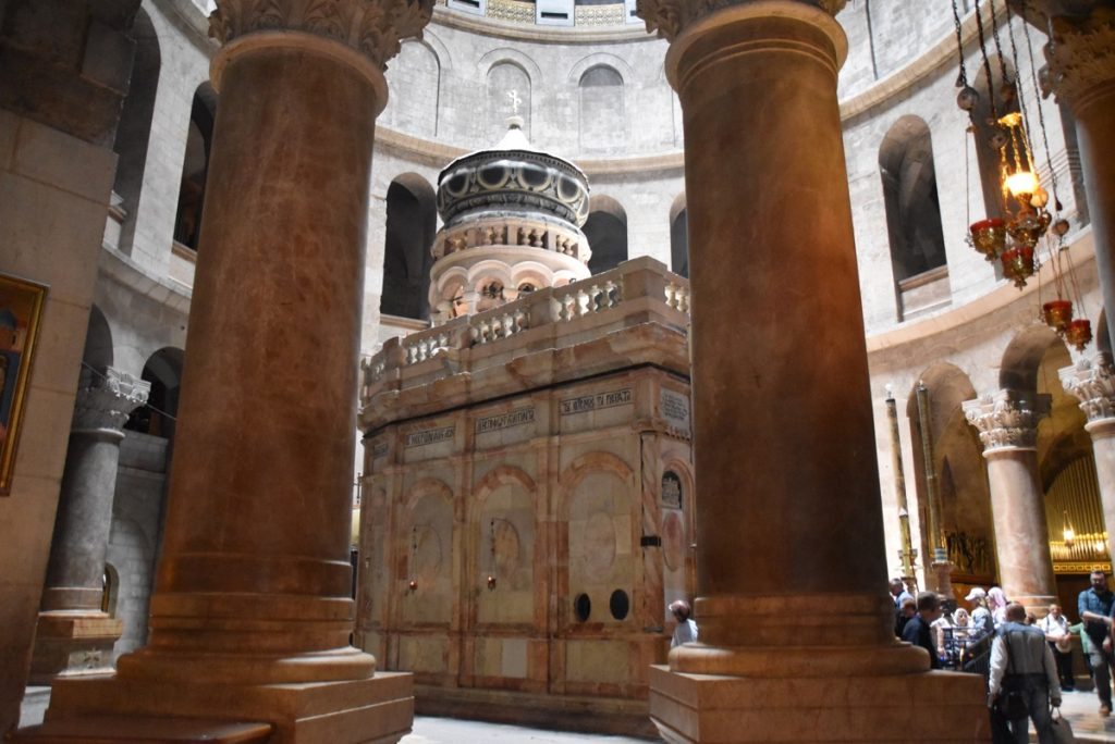 Holy Sepulcher Jerusalem June 2017 Israel Tour