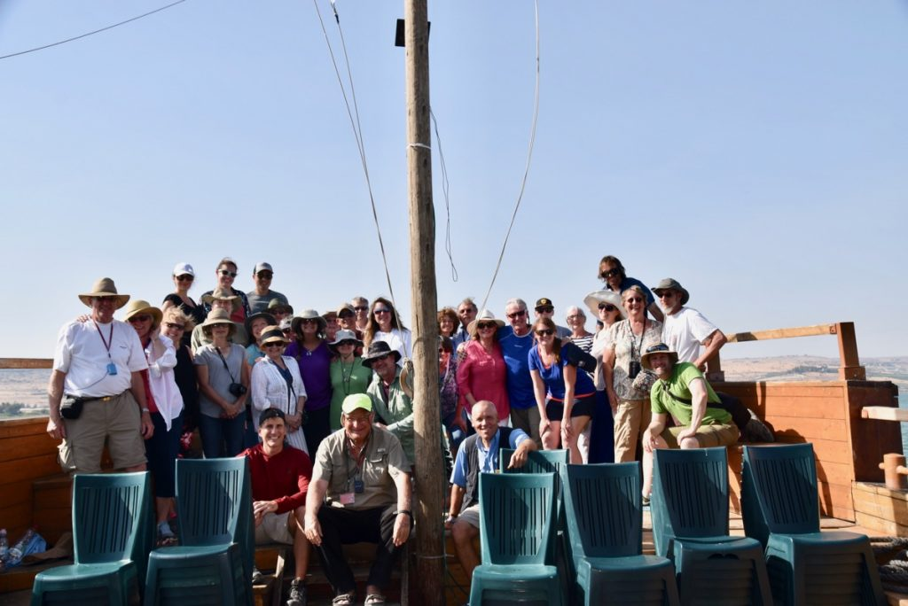 Sea of Galilee boat ride June 2017 Israel Tour