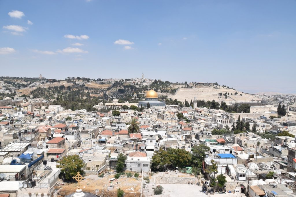 Temple Mount Jerusalem June 2017 Israel Tour