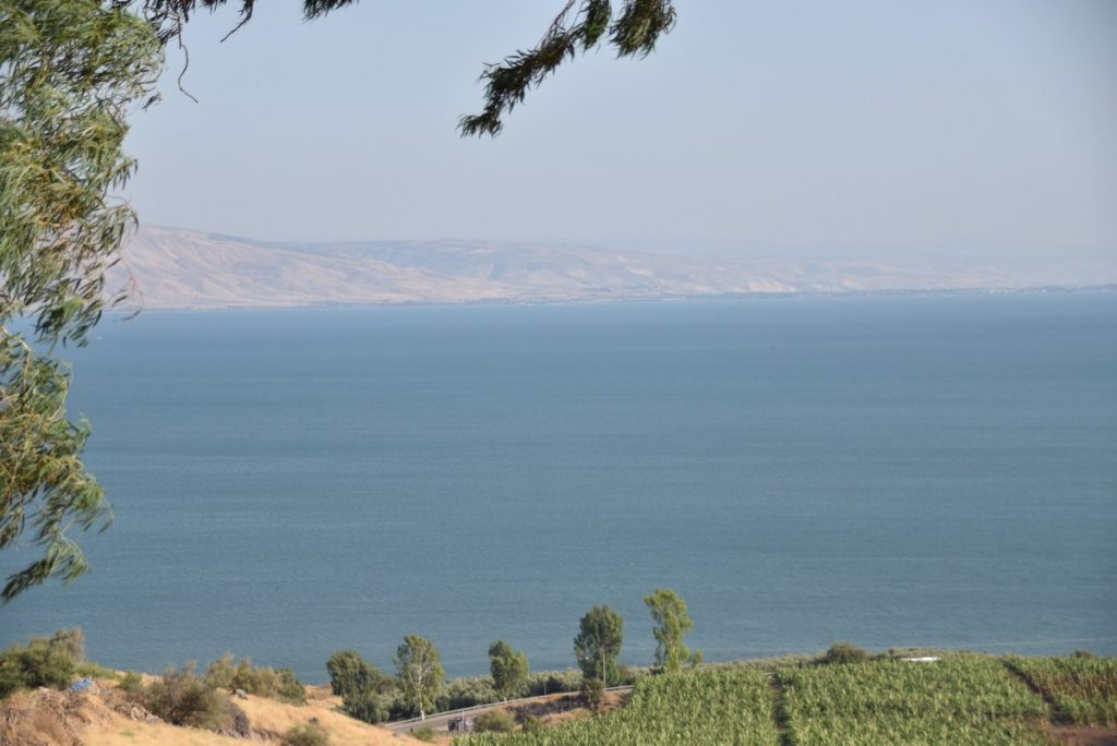 Mt of Beatitudes June 2017 Israel Tour