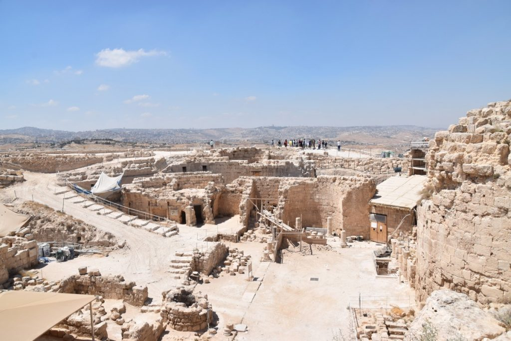 Herodium Jerusalem June 2017 Israel Tour