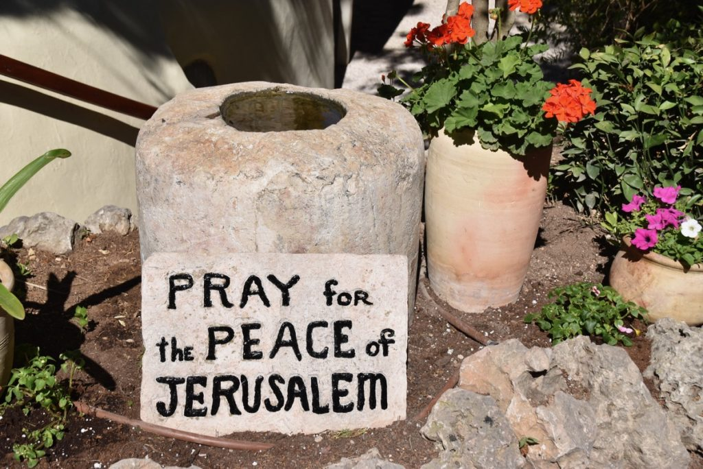 Pray for Peace of Jerusalem June 2017 Israel Tour