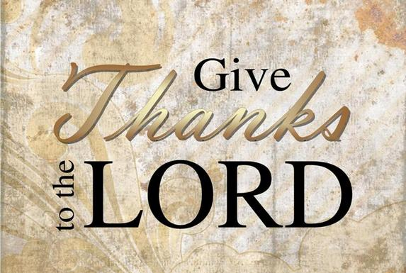 """Give Thanks to the Lord – """"Hodu l' Adonai"""""""