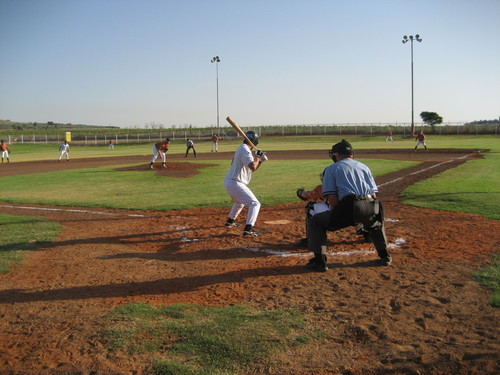 Baseball in Israel at Kibbutz Gezer!