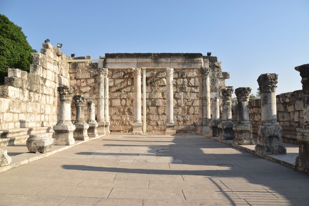 Capernaum synagogue September 2017 Israel Tour