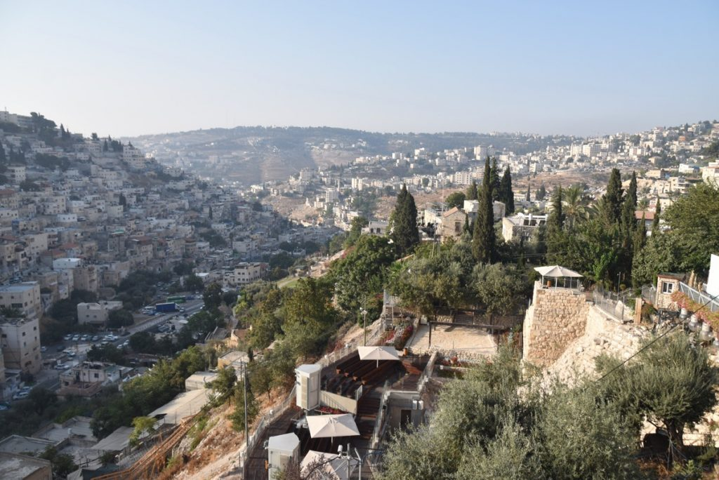 City of David September 2017 Israel Tour Group