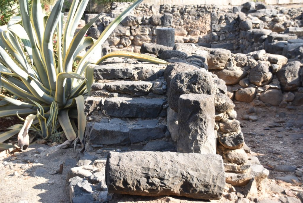 Capernaum houses September 2017 Israel Tour