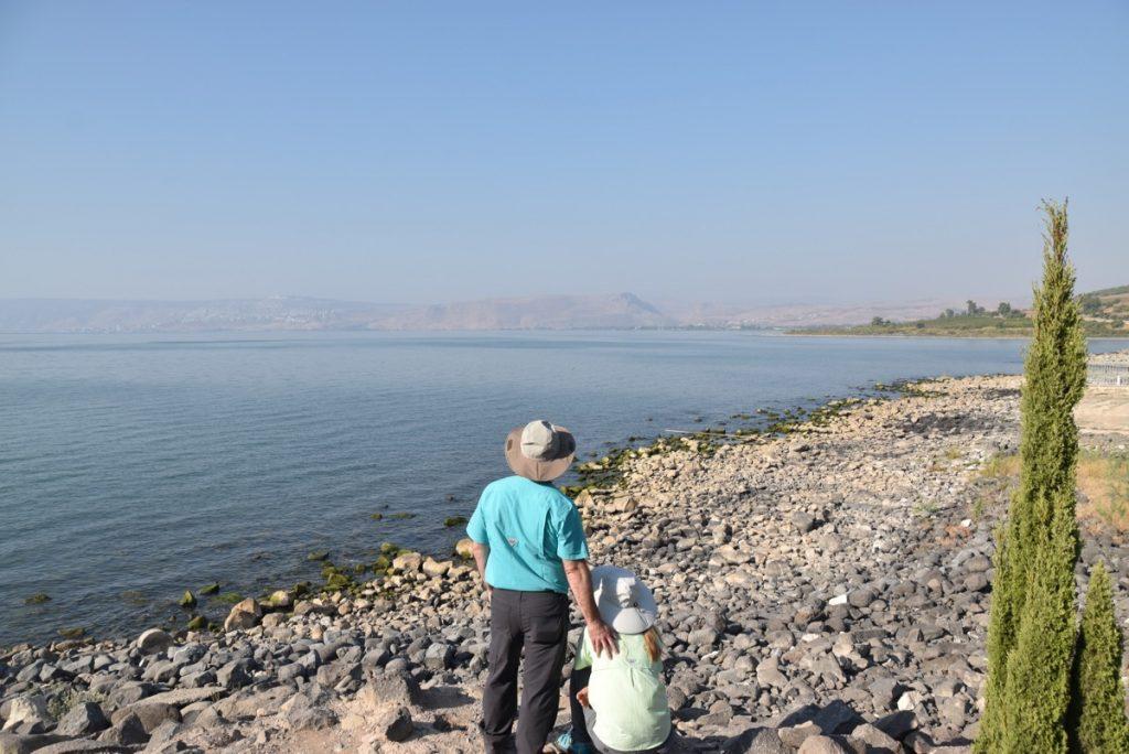 Capernaum shoreline September 2017 Israel Tour