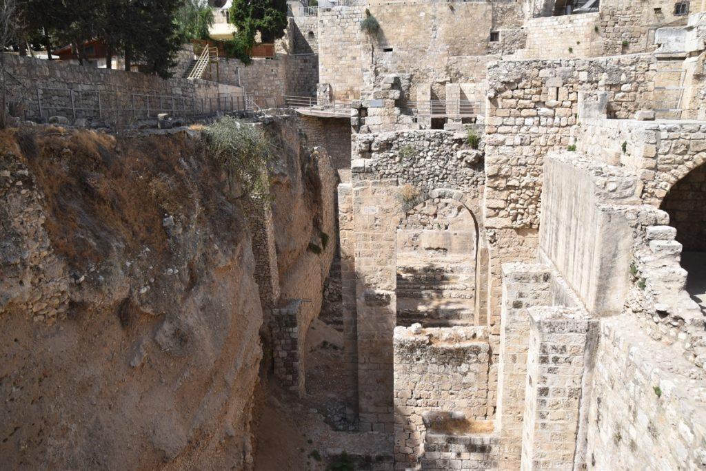 Pools of Bethesda Jerusalem September 2017 Israel Tour Group