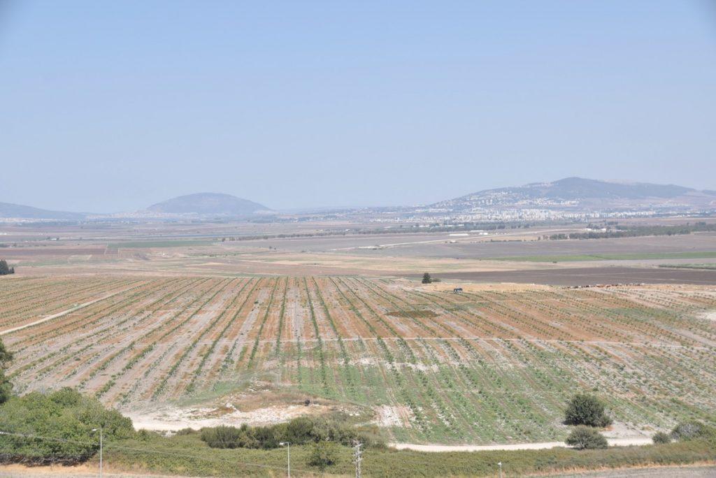 Jezreel Valley Sept 2017 Israel Tour