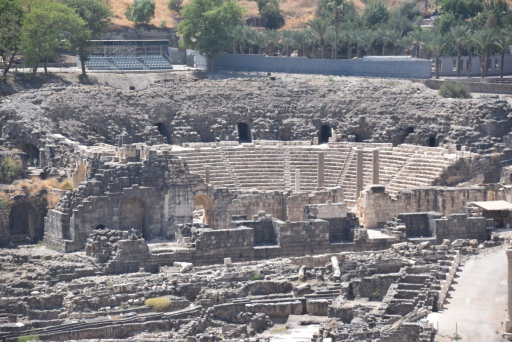 Beth Shean September 2017 Israel Tour