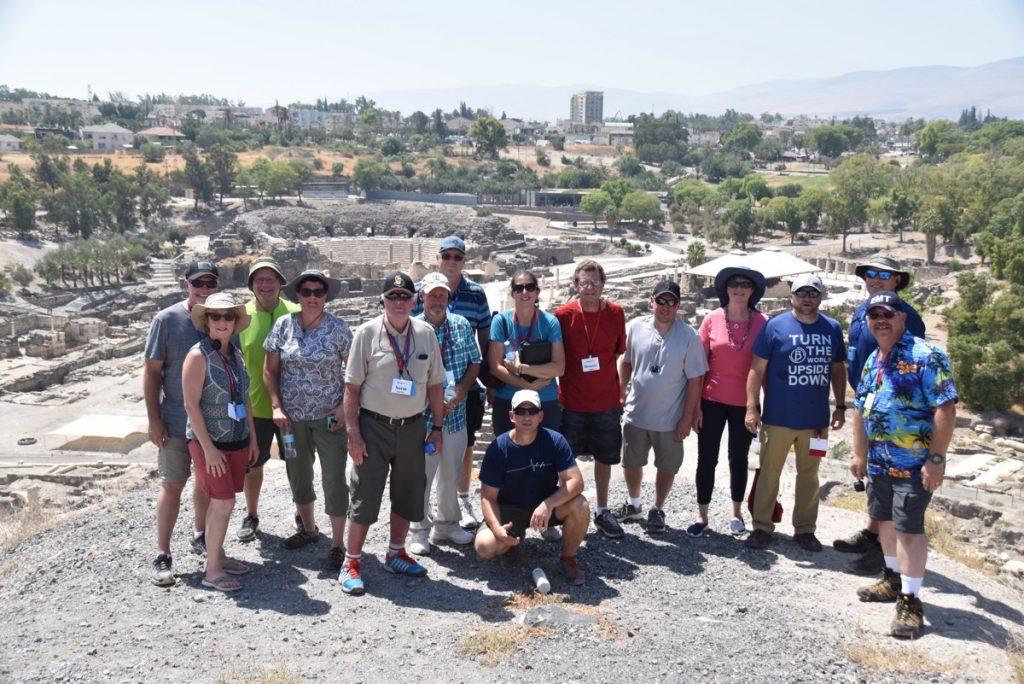 Beth Shean September 2017 Israel Tour