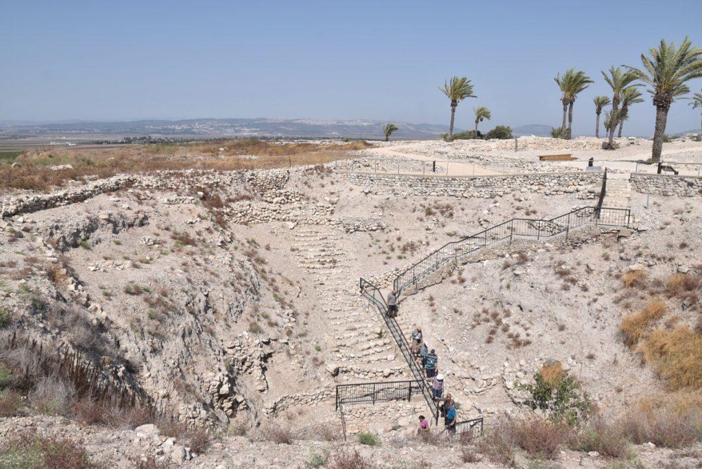 Megiddo Sept 2017 Israel Tour