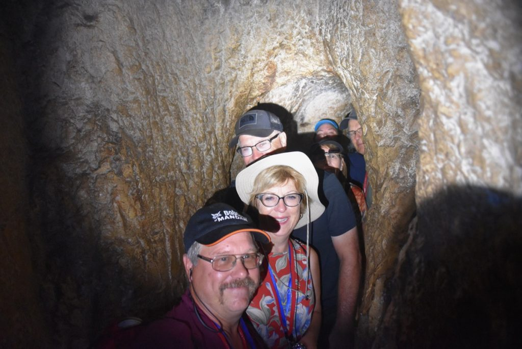 Hezekiah's Tunnel September 2017 Israel Tour Group