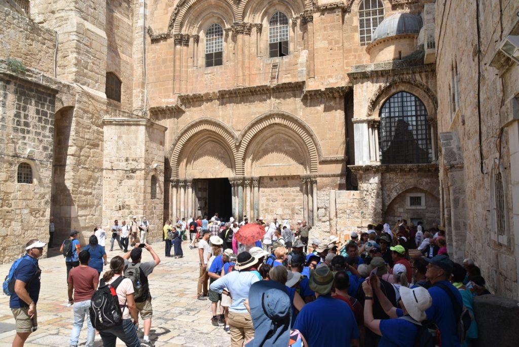 Holy Sepulcher Church September 2017 Israel Tour Group