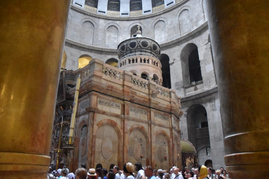 Holy Sepulcher Church September 2017 Israel Tour Group