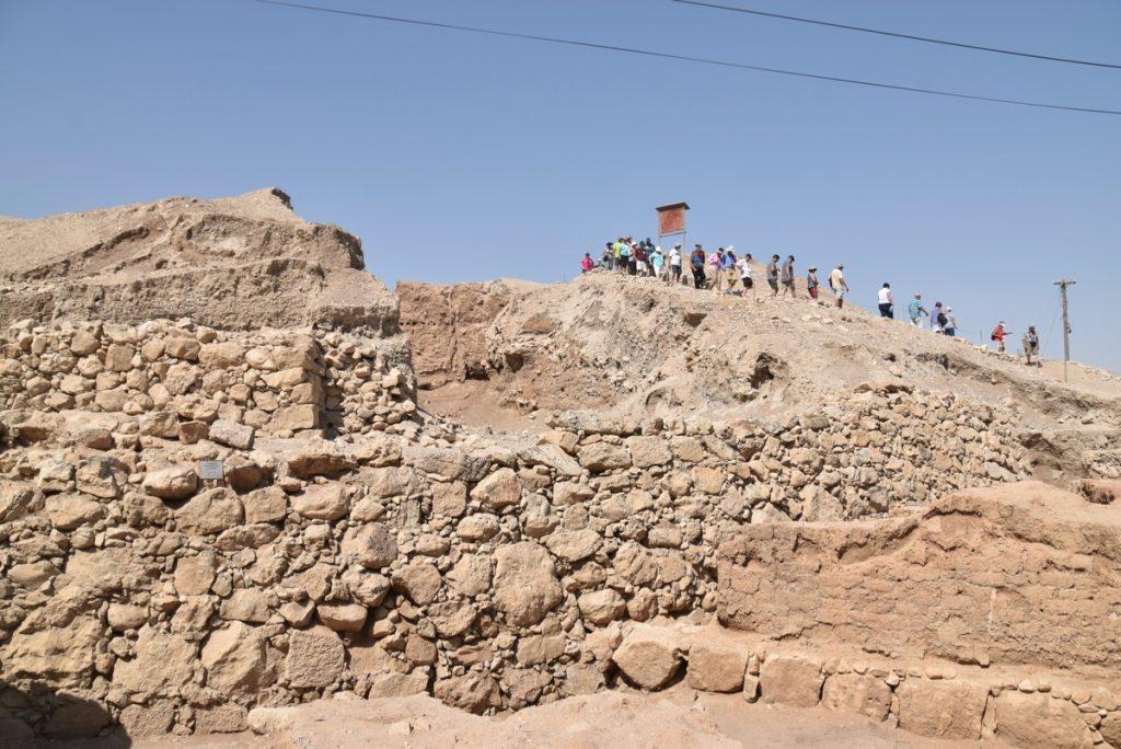 Jericho walls September 2017 Israel Tour