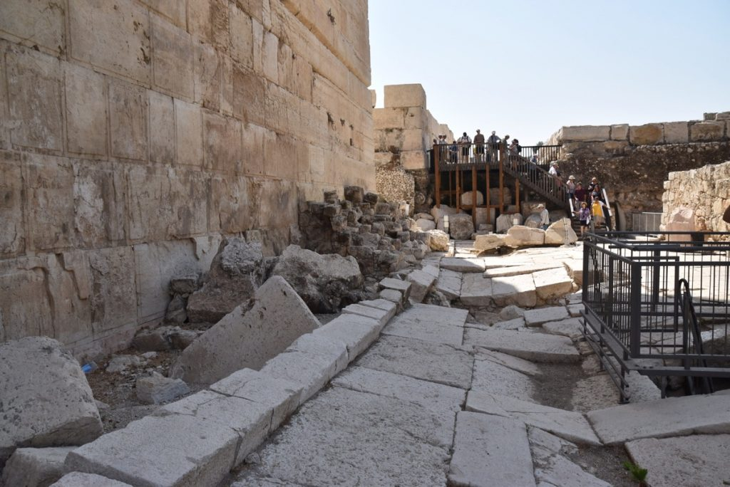 Southern wall Jerusalem September 2017 Israel Tour Group