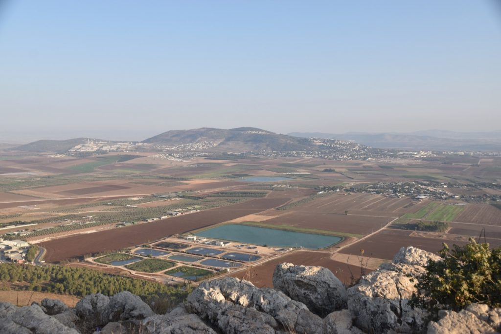 Jezreel Valley Sept 2017 Israel Tour