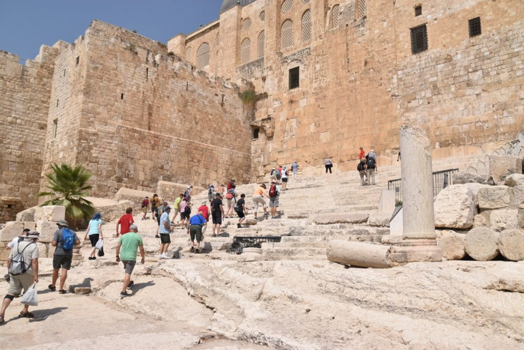 Temple Steps September 2017 Israel Tour Group