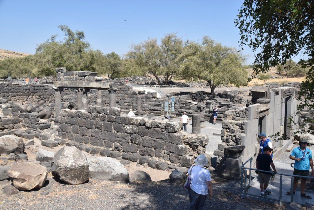 Chorazim synagogue September 2017 Israel Tour