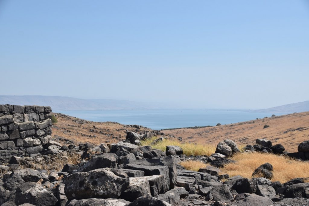 Sea of Galilee from Chorazim September 2017 Israel Tour
