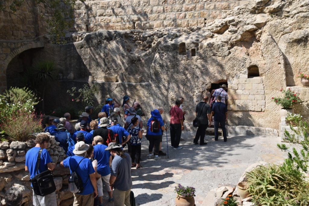 Garden Tomb Jerusalem September 2017 Israel Tour Group