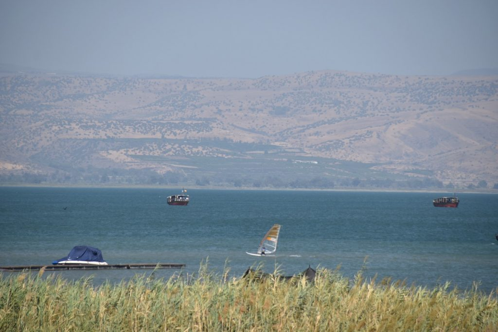 Sea of Galilee September 2017 Israel Tour