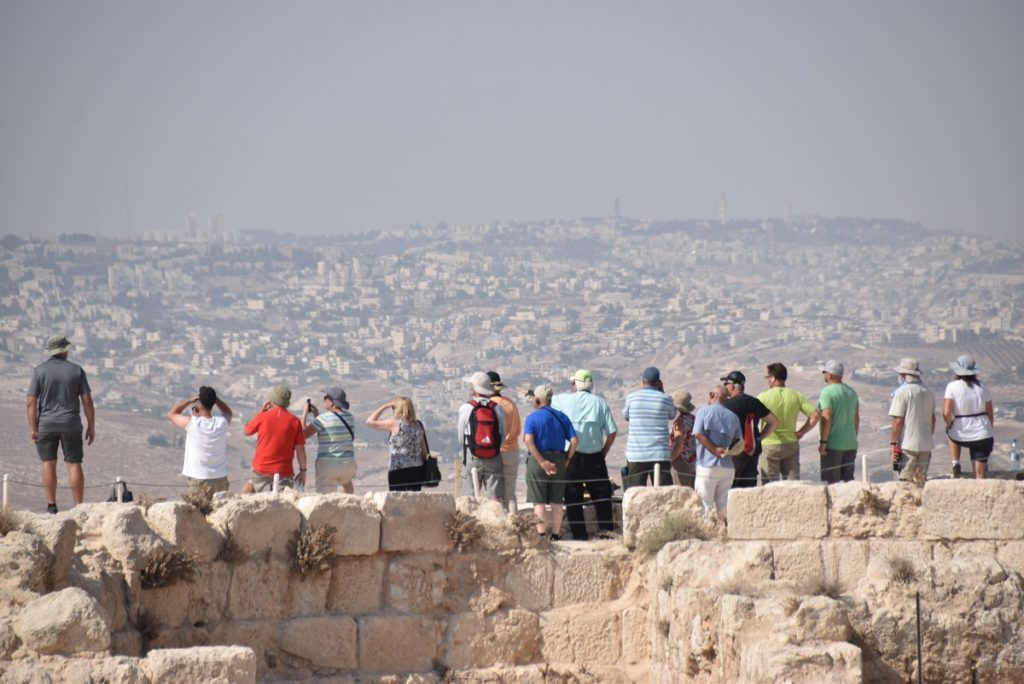 Herodium September 2017 Israel Tour Group