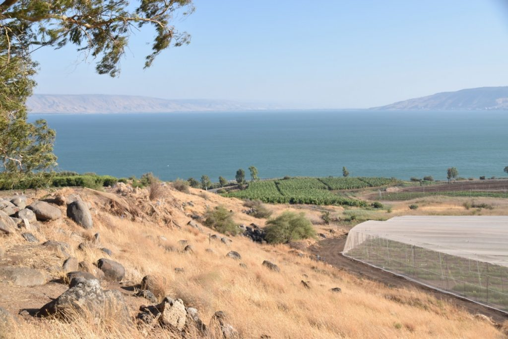Sea of Galilee September 2017 Israel Tour