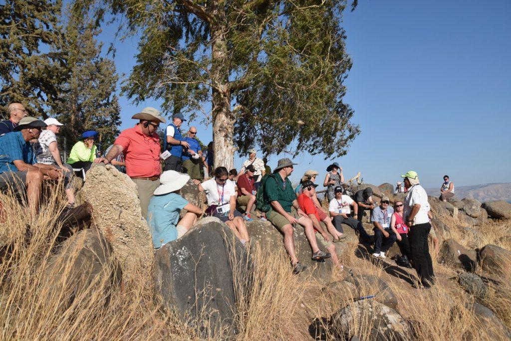 Mt. of Beatitudes September 2017 Israel Tour