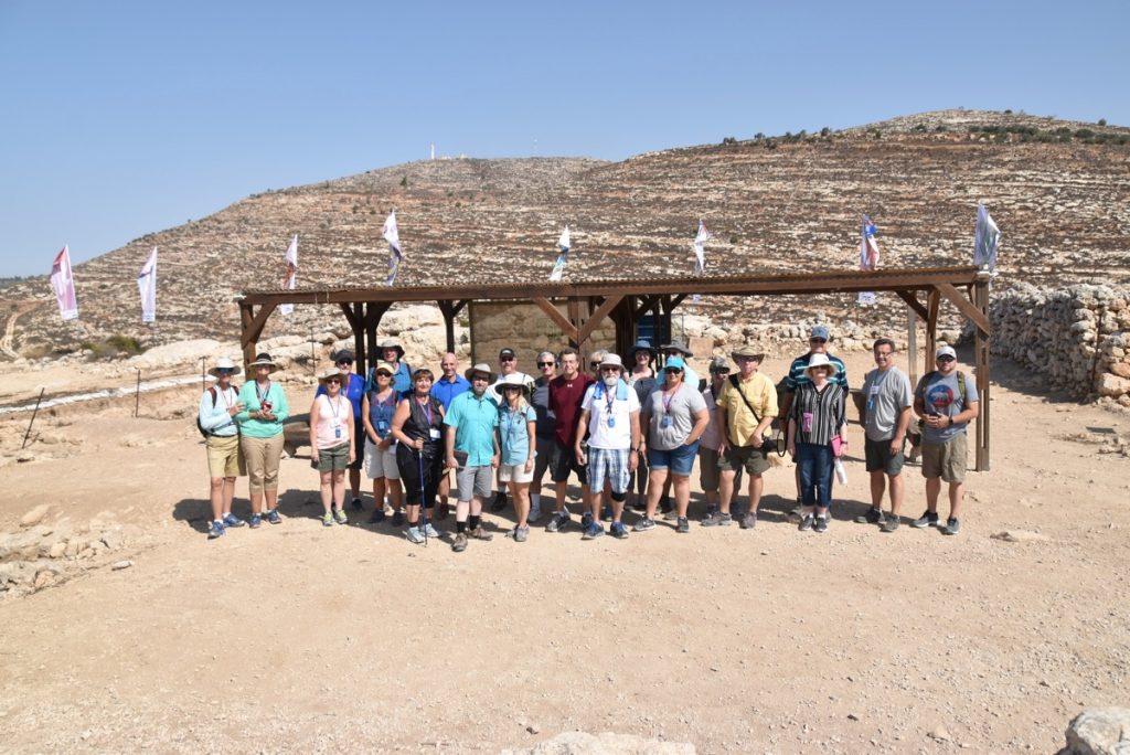 Shiloh September 2017 Israel Tour Group