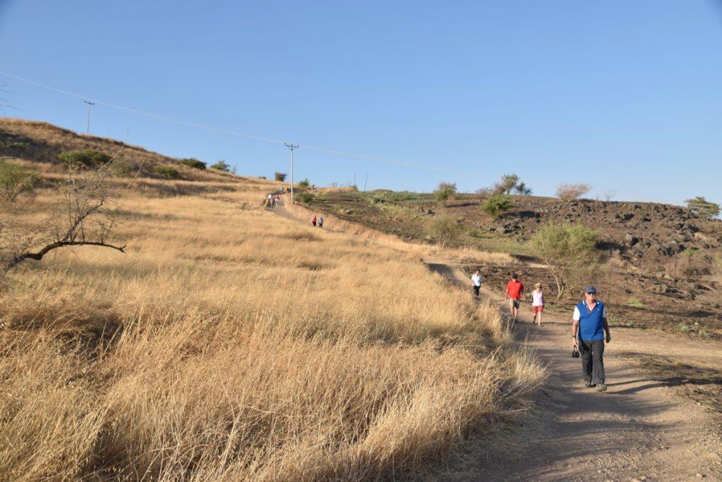 Mt. of Beatitudes September 2017 Israel Tour