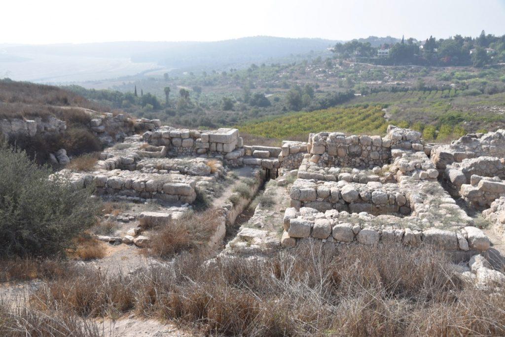 Tel Gezer Solomonic gate September 2017 Israel Tour