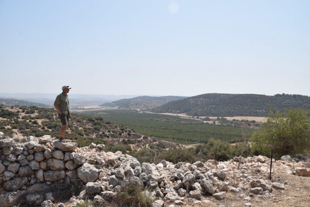 Kh. Qeiyafa September 2017 Israel Tour