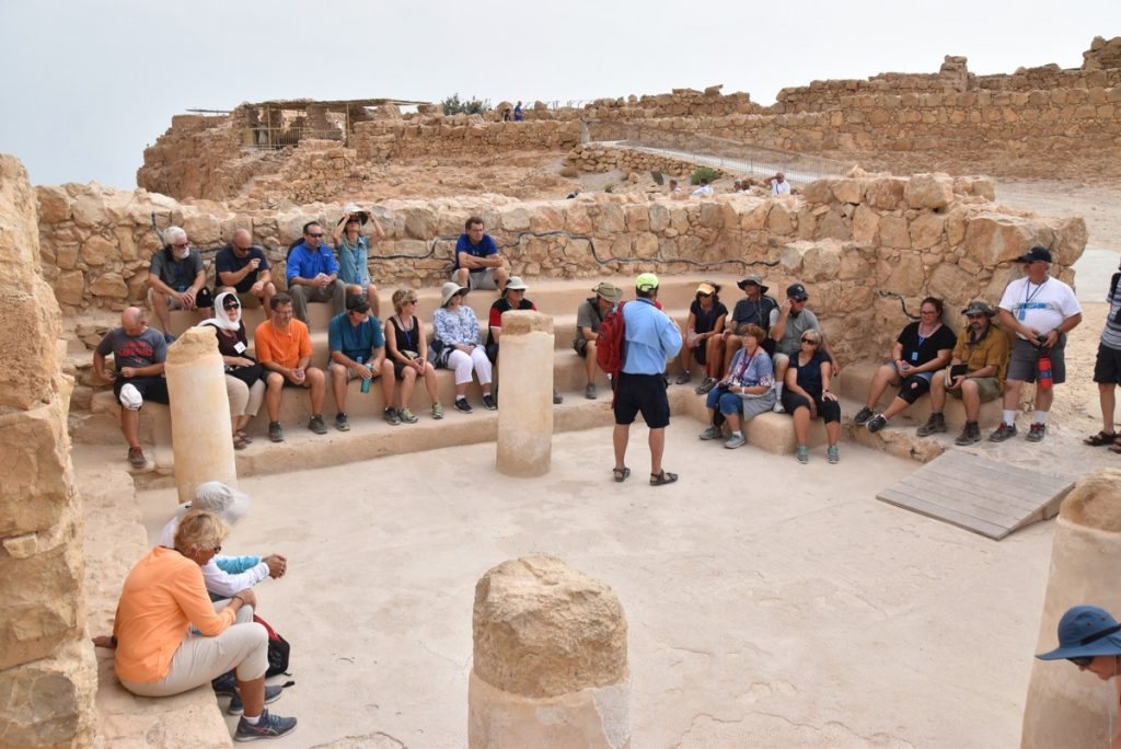 Qumran synagogue September 2017 Israel Tour
