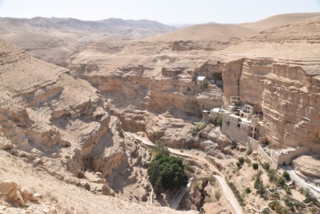 Wadi Qelt St. George Monestery September 2017 Israel Tour Group