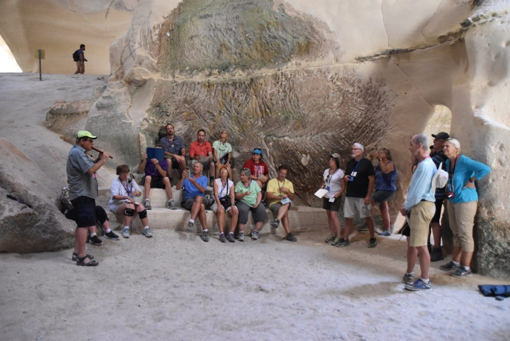 Bell cave Beit Guvrin September 2017 Israel Tour
