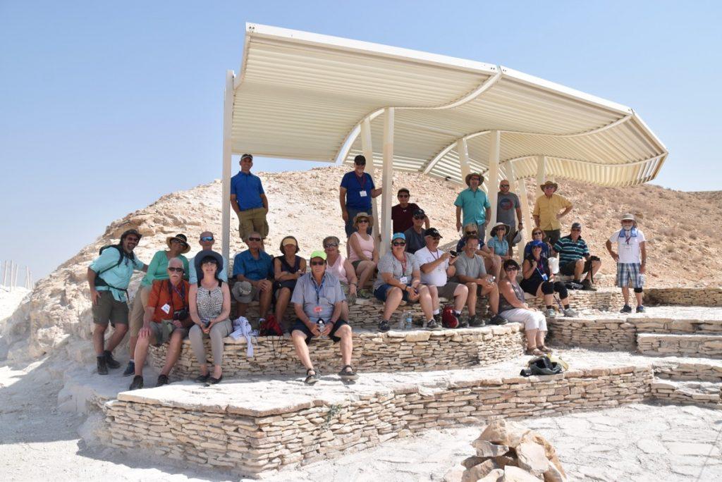 Wadi Qelt September 2017 Israel Tour Group