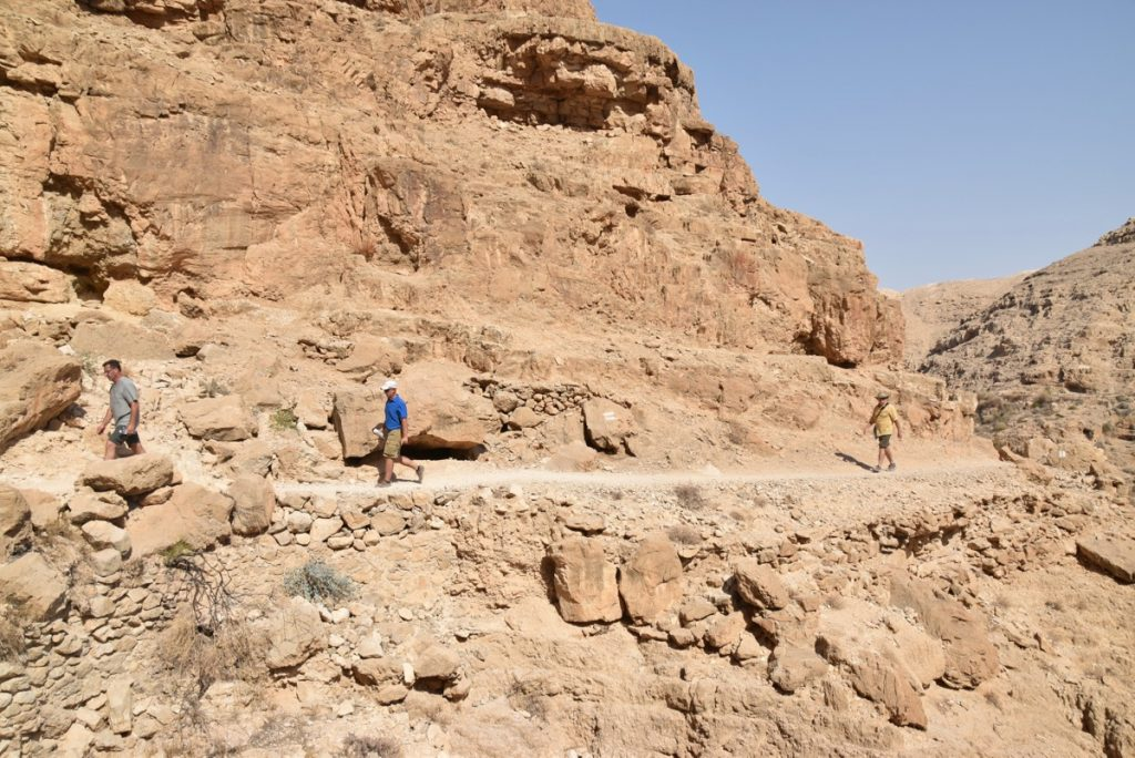 Wadi Qelt Hike September 2017 Israel Tour Group