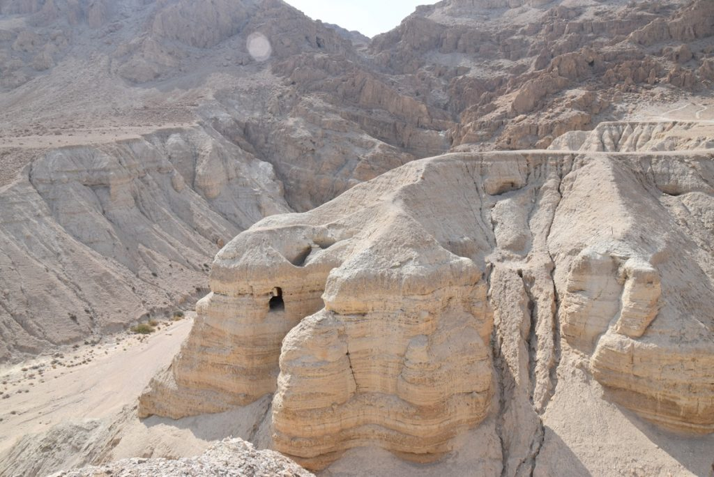 Qumran Cave 4 September 2017 Israel Tour