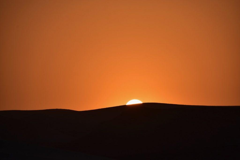 sunset September 2017 Israel Tour