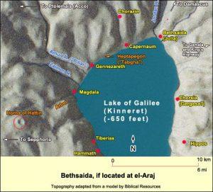 map of el Araj