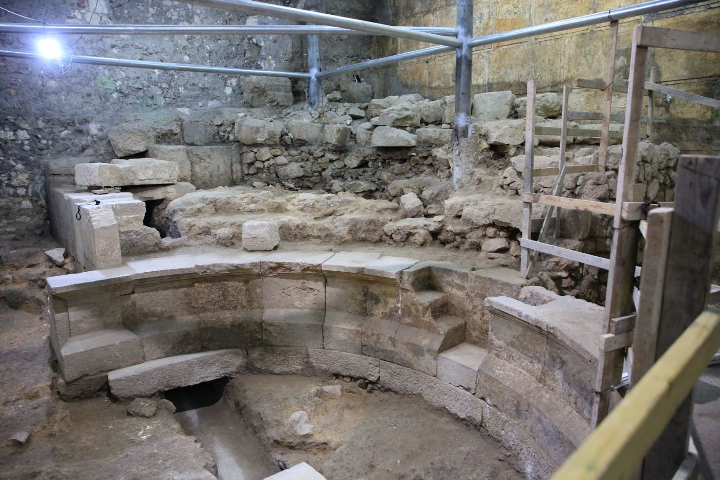 Ancient Theater Uncovered in Jerusalem