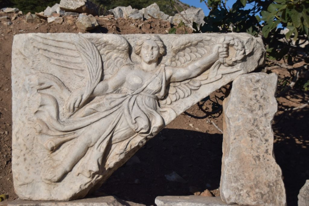 Ephesus Nike statue Turkey October 2017 Greece Tour - Dr. DeLancey