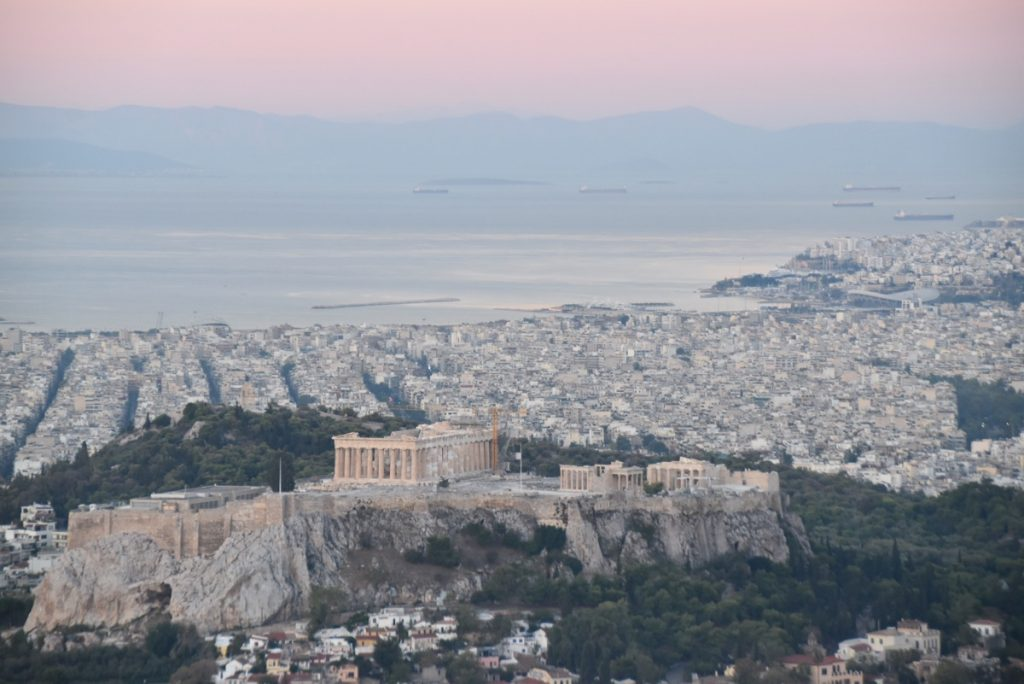 Athens Acropolis October 2017 Greece Tour - Dr. DeLancey