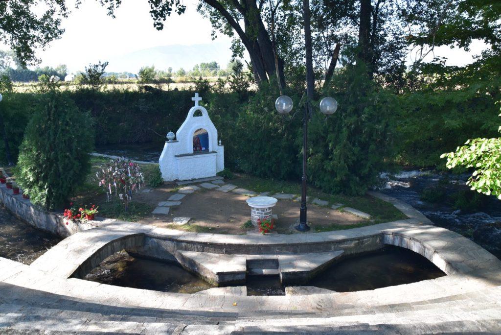 Lydia baptistry 2017 Greece Tour