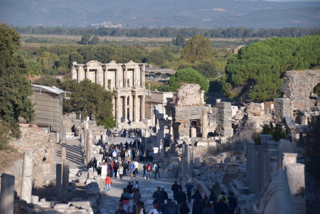 Ephesus Library Turkey October 2017 Greece Tour - Dr. DeLancey