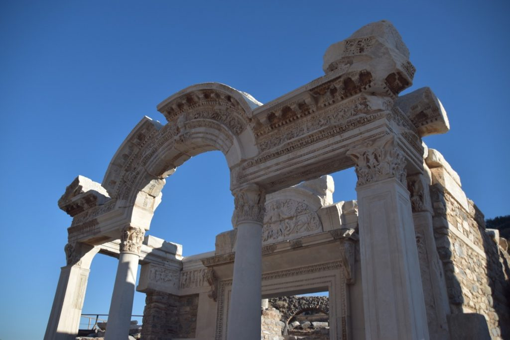 Ephesus Arch of Hadrian Turkey October 2017 Greece Tour - Dr. DeLancey
