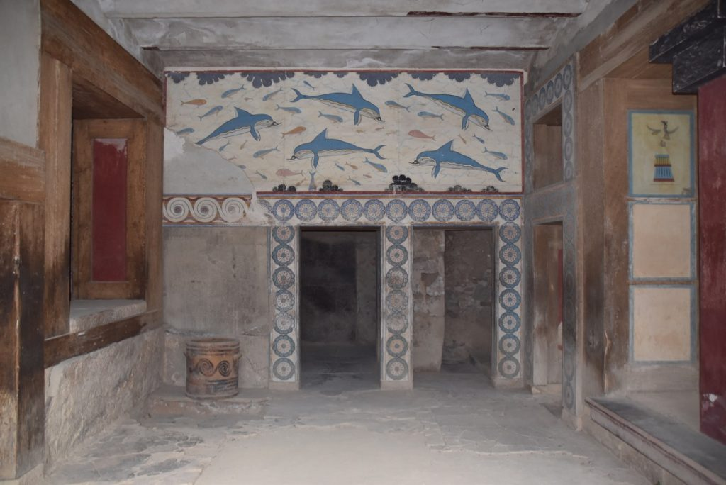 Crete Knossos October 2017 Greece Tour - Dr. DeLancey